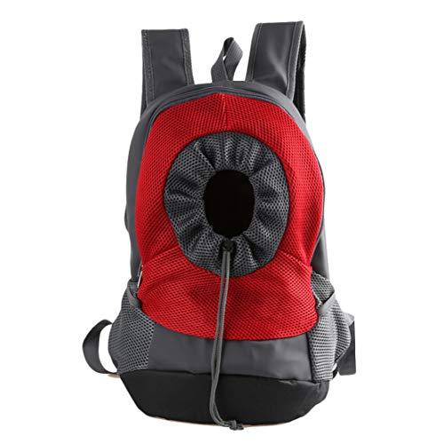 Bolsa de Mochila Plegable para Perros y Mascotas para Viajes en Bicicleta Mochila Duradera de Malla Transpirable al Aire Libre, hasta 8 kg