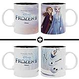 THE GOOD GIFT Disney - Set di 2 Tazas - Frozen 2, Heemanas + Olaf