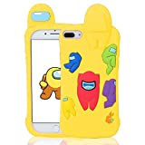 Darnew Among Yellow Funda para iPhone 6 Plus/7 Plus/8 Plus,Dibujos Animados Lindo Moda Suave de TPU Diseño de Gracioso Divertido Frio para Us Niños y Niñas Mujer,Casos para iPhone 8 Plus