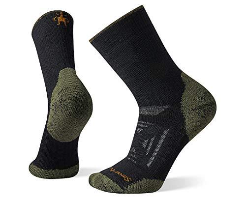 Smartwool PhD Outdoor Heavy Crew Sock - BLACK Large