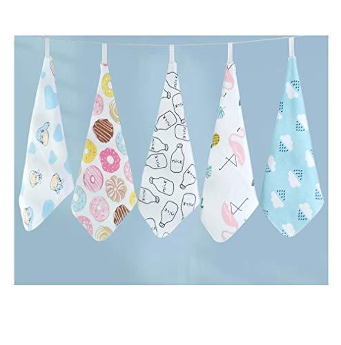10 Baby Gauze, Saliva Handdoek, Baby Katoen Vierkante Handdoek, Handdoek, Pasgeboren gezicht Handdoek H