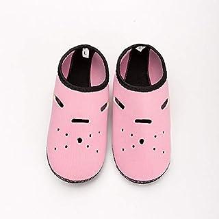 CUSHY Neoprene Diving Socks Gloves Wholesale Non-Slip Snorkeling Swimming Beach Socks for Adult Children Water Sports Shoes Yoga Shoes: Pink, XS