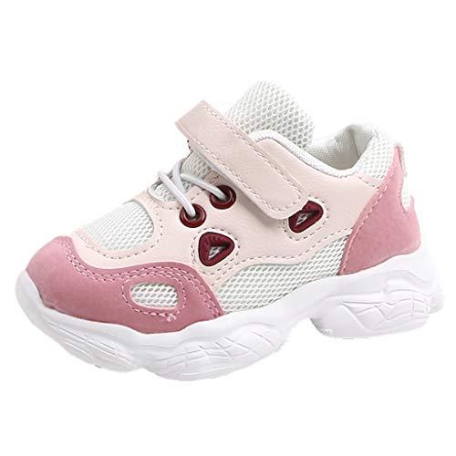 Zapatos de playa para bebés Grandes ventas, zapatos Niños pequeños Niños Niños Niñas Niños Suela suave Malla Running Zapatillas deportivas rosadas 5.5-6.5 años, Niños Niñas Zapatos para niños