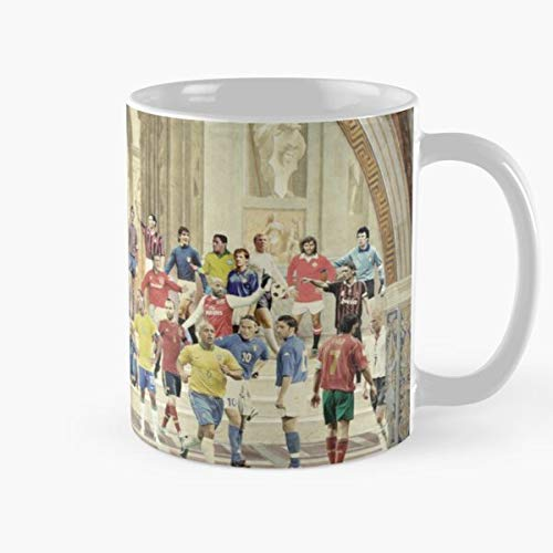 Shoprkcb Football Sanzio Soccer Champion Calcio Raffaello Legends Best 11 oz Kaffeebecher - Nespresso Tassen Kaffee Motive