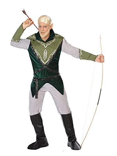 DISBACANAL Disfraz de Elfo para Hombre - M-L