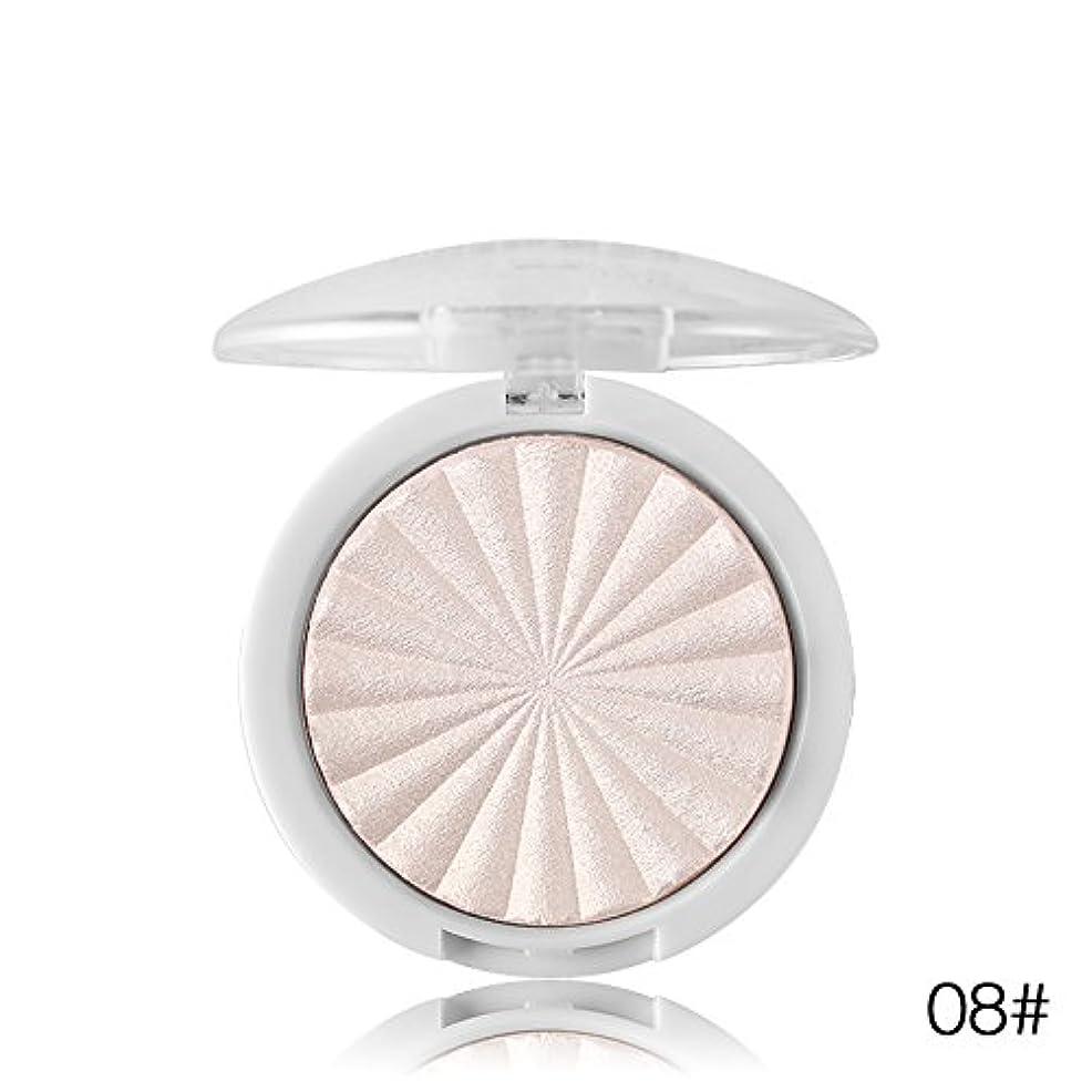 装備するアルミニウム取り組むMiss Rose Illuminator Makeup Shimmer Powder Highlighter Palette Face Base Bronzer Highlight Contour Hailaiter