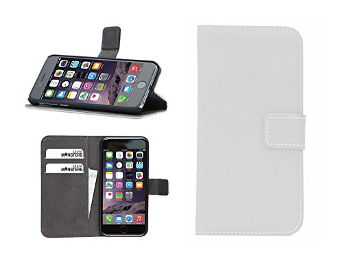 Silent Monsters 5005001007Custodia con Funzione Stand per Apple iPhone 6s Bianco