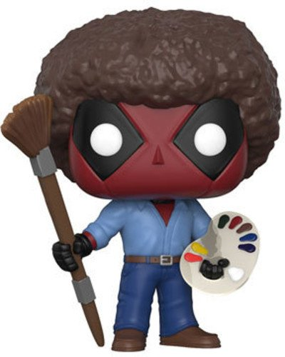 Funko Pop Deadpool Afro – Bob Ross (Deadpool 319) Funko Pop Deadpool
