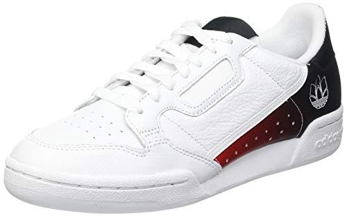 adidas Continental 80, Zapatillas Deportivas Hombre, FTWR White Core Black FTWR White, 40 EU