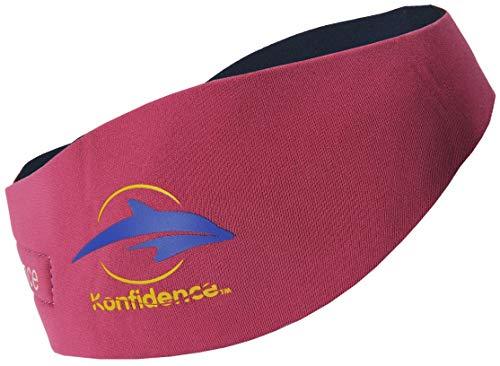 Konfidence konfi-Store aquaband Oreilles pour Natation, Couleur Bleu - Rose - L