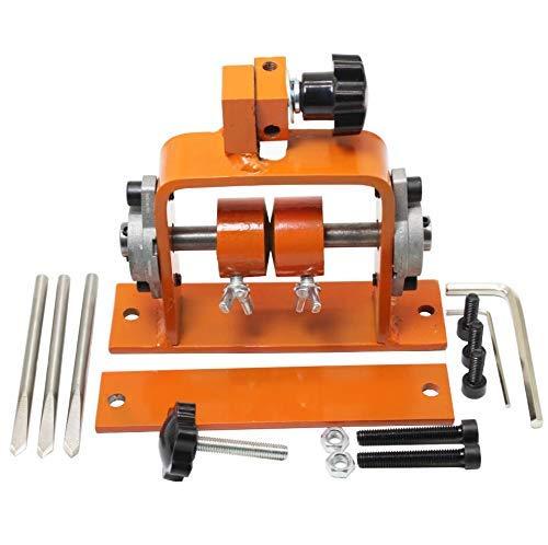 RENJIFAN Máquina manual de pelado de cables de cable, pelado de cable con un cuchillo. Alicates de pelado multiherramienta de prensado ajustable automático