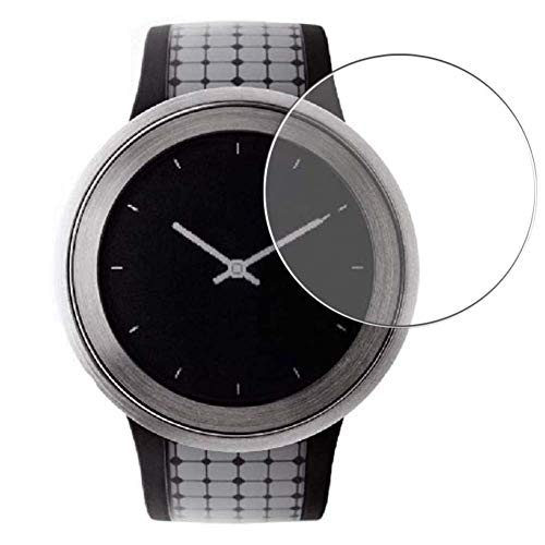 Vaxson 3 Stück Schutzfolie, kompatibel mit SONY FES Watch U Smartwatch Hybrid Watch, Displayschutzfolie Bildschirmschutz Blasenfreies [nicht Panzerglas]