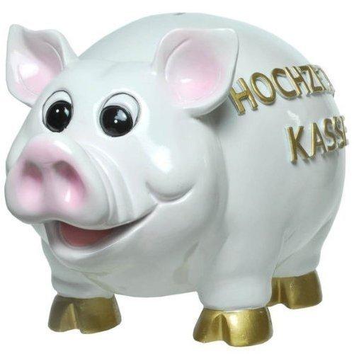 Riesiges XL-Sparschwein Hochzeitskasse Figur Hochzeit Geldgeschenk Spardose