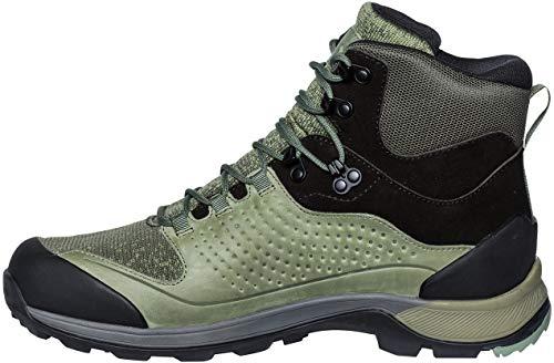 VAUDE Men's TRK Skarvan Mid STX, Chaussures de Randonnée Hautes Homme, Vert (Cedar Wood), 41 EU