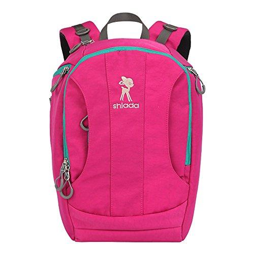 Sac de maman multifonction de grande capacité, sac de maternité de mode d'épaule, colis de fournitures maternelles et pour enfants ( Couleur : Rose red )