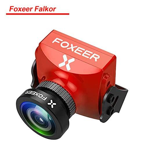 FPV Kamera Foxeer Falkor 1200TVL 1.8mm Objektiv 4: 3/16: 9 Bildschirm PAL / NTSC Umschaltbar 1/3 CMOS G-WDR OSD DC 5V-40V Allwetter-Adaptive Kamera für FPV Racing Drone Quadcopter