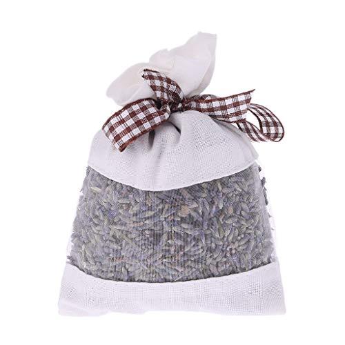 Fafalloagrron - Sachets de Fleurs séchées Bio - Parfum Lavande - pour décoration de Voiture, café, 3.54x4.72in