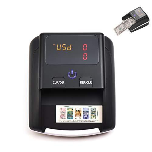 TYX-SS Automatisches Falschgeld Prüfgerät,Geld-Prüfgerät Echtheitprüfung Banknotenzähler Mit UV Prüfung