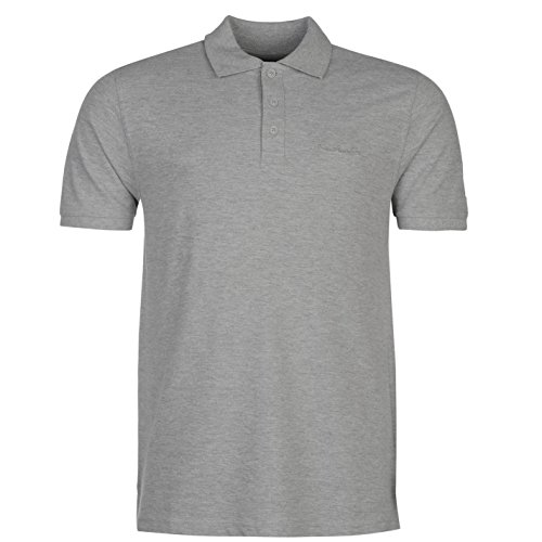 Pierre Cardin Herren Einfarbig Polo Poloshirt T Shirt Kurzarm Kragen Tee Top XXXXL