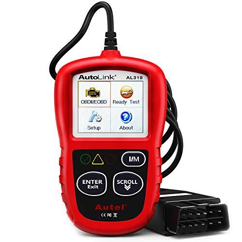 Autel AutoLink AL319 OBD2 Scanner Automotive Engine Fault Code Reader...