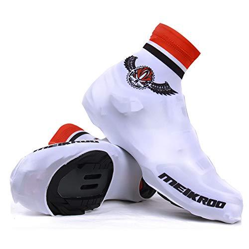 Cubiertas para zapatos de bicicleta, para ciclismo, unisex, cortavientos, forro polar, transpirable, para invierno, para deportes al aire libre, hombres y mujeres (talla: XL)