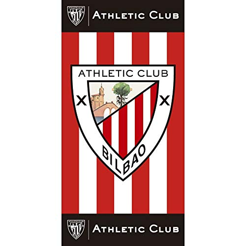 TEXTIL TARRAGO toalla de playa estampada Athletic Club 75x150 100% algodón