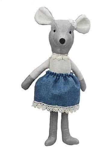 Gevulde dieren speelgoed Knuffels Pluche baby speelgoed leuke cartoon pluchen speelgoed kind kinderen speelgoed zachte pluche Maileg muis pop knuffel knuffeldier