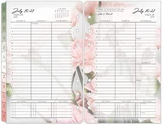Compact Blooms Weekly Ring-Bound Planner - Jul 2019 - Jun 2020