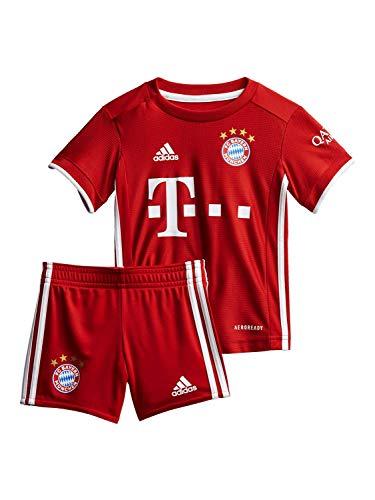 FC Bayern München Baby Home-Trikot Saison 2020/21 Baby-Kit, Gr. 80
