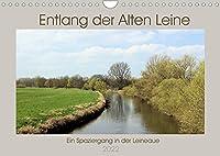 Entlang der Alten Leine (Wandkalender 2022 DIN A4 quer): Ein Spaziergang in der Leineaue (Monatskalender, 14 Seiten )