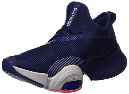 Nike Herren AIR ZOOM SUPERREP Cross-Laufschuh, Blau (Blue void, Hyper blue-Vast grey), 45 EU