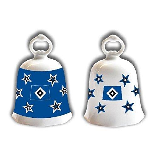 Brauns Hamburger SV kerstklok set van 2, blauw, 29106