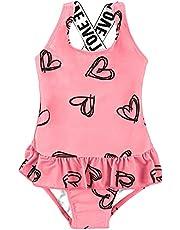 MARZXIN Baby Girls One Piece Swimsuit Toddler Ruffle Bathing Suit Swimwear Beachwear