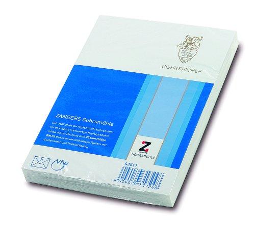Gohrsmühle Briefumschlag C6 80G/Qm 25 Stück