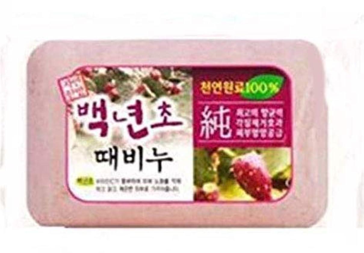 フィドル閉じ込めるカニ垢ないと自信満々の貴方に!あかすりせっけん、韓国の本場の人気商品