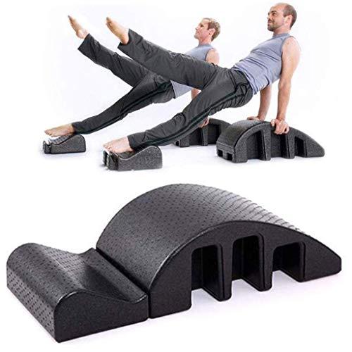 LFSTY Pilates Massage Table, Spinal Aligner Back Orthosis Yoga Pilates Chiropractic Bed Foam Balanced Body Adjustable Back Spine Posture Corrector for Yoga Room Indoor Gym