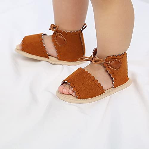 Sandalias para Bebés con Cordones De Lunares para Niños Y Niñas, Zapatos para Bebés, Zapatos para Niños Pequeños, Zapatos para Niños con Lazo para Mujeres, Zapatos Planos De Verano para Caminar
