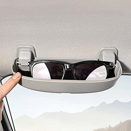 USNASLM Caja de gafas de sol de coche caja de almacenamiento para BMW E60 E61 E63 E64 E65 E66 E67 E68 E82 E88 E90 E91 E92 E93