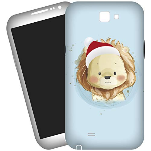 My Custom Style Cover 3D #Natale-Orsetto# per Samsung Galaxy S5