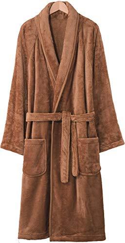 毛布のような優しい手触り!とろけるあったかガウン【キャメル/S-M】ガウン 毛布 マイクロフリース ふわふわ 柔らか やわらか ふんわり 部屋着 ルームウェア あったか あたたかい 暖かい 室内 寒い 冬 防寒 上着 羽織る とろける 湯冷め 暖房 節約