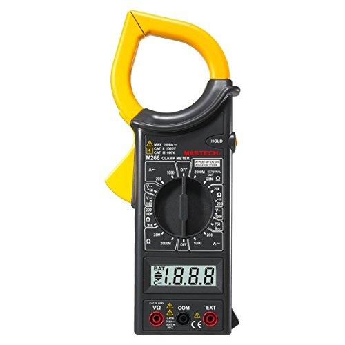 Mastech M266 Digital AC Clamp Meter AC/DC Voltage AC Current Resistance Tester