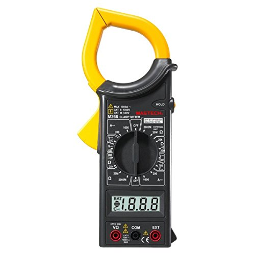 Mastech M266 Digital AC Clamp Meter AC/DC Voltage AC Current Resistance Tester