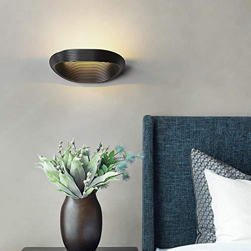 Zwart-wit Nordic persoonlijkheid creatieve wandlamp nachtkastje badkamerkast make-uptafel make-up spiegel voorlamp wandlamp