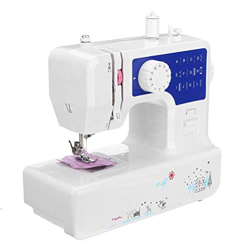 Electric Sewing Machine, Fy-Light Multifunction Sewing Tool with 12 Different Stitches for Household
