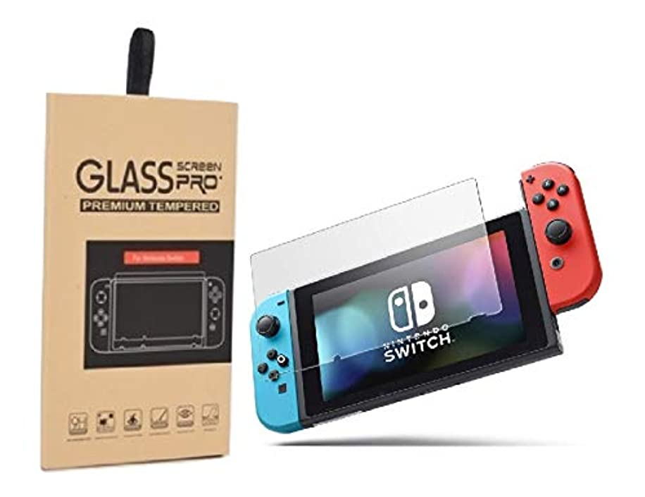 Nintendo Switch Premium Screen Protector 9H Tempered Glass, Protect your Eye, Transparent Clear, Blue Light Cut, Enhanced Anti Piercing Screen Protector made specially for Nintendo Switch