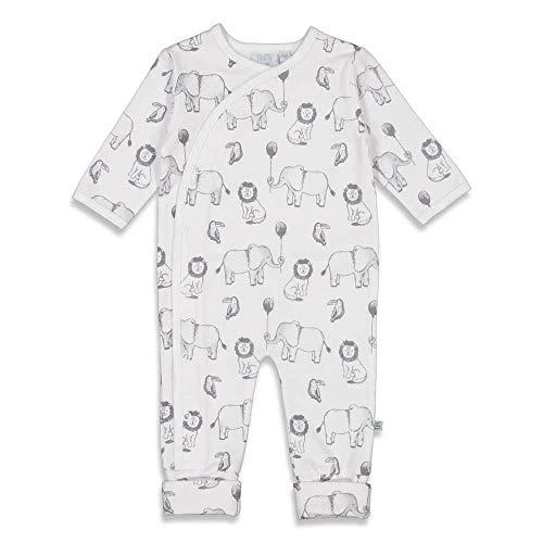 Feetje Baby-Jungen Overall mit Klappfuß und Alloveprint Animals - 50700125