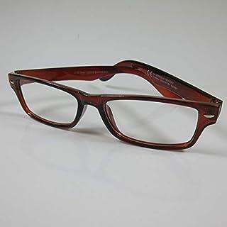 CEPEWA eenvoudige leesbril +2,0 bruin dames & heren leeshulp kant-en-klare bril