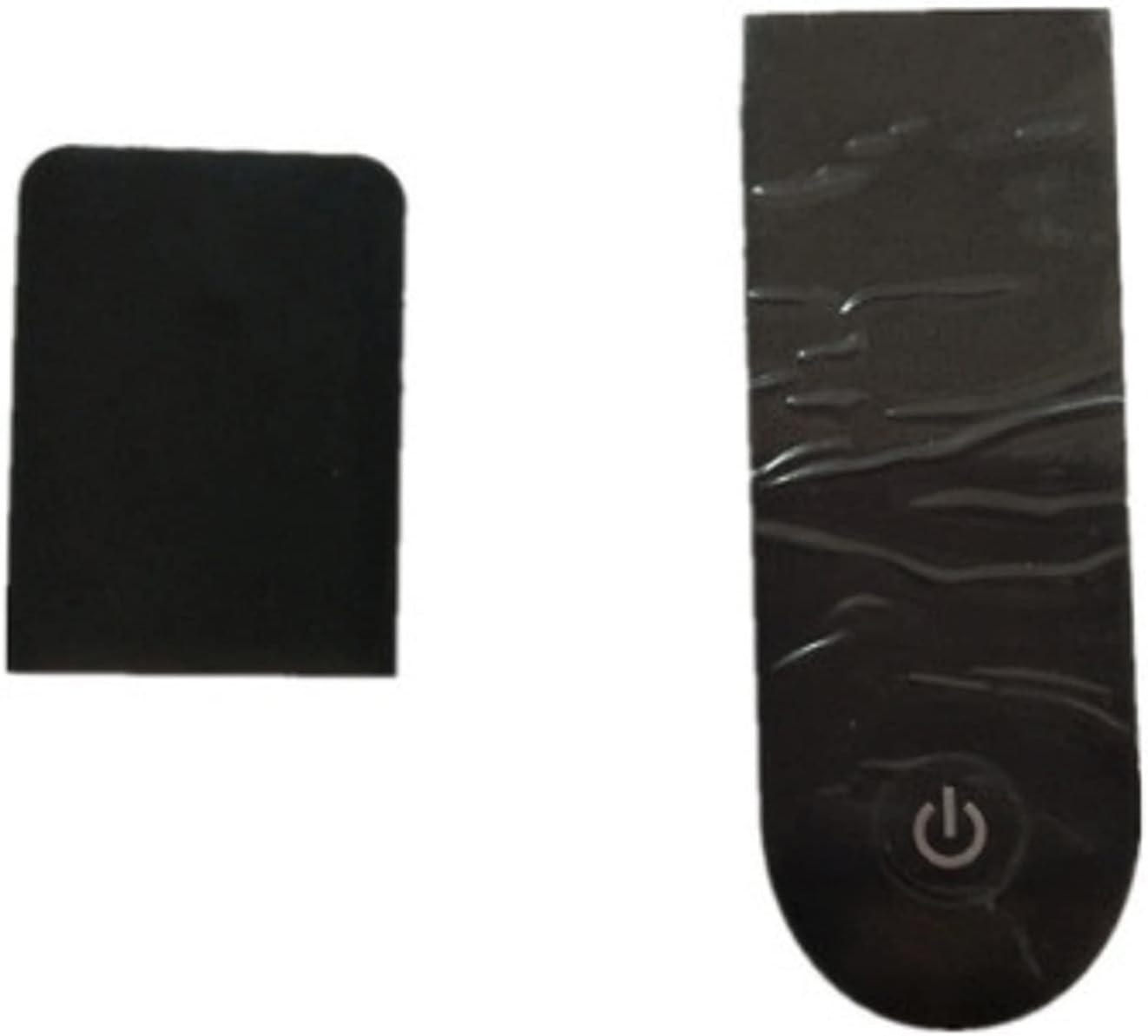 HUAHUA JUSU Store Tablero de Instrumentos Cubierta de protección Shell Fit para Xiaomi Mijia MI M365 Funda de Pantalla de Placa de Circuito Transparente Pro Scooter con Pegatinas