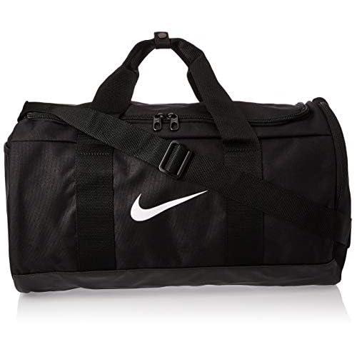 Nike W Nk Team Duffle, Borsa Palestra Donna, Nero (Black/Black/White), 24x15x45 Centimeters (W x H x L)