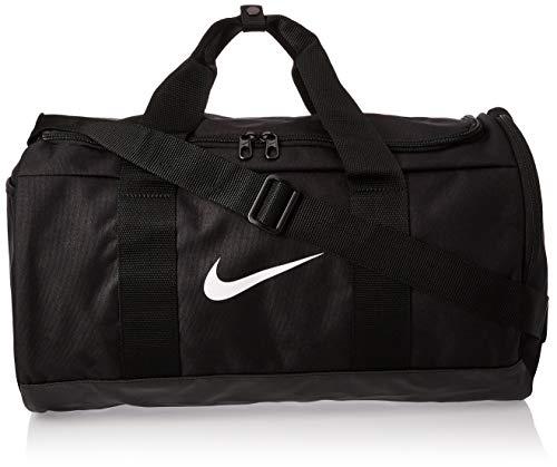 NIKE Team Women's Training Duffel Bag, Black/Black/White, One Size